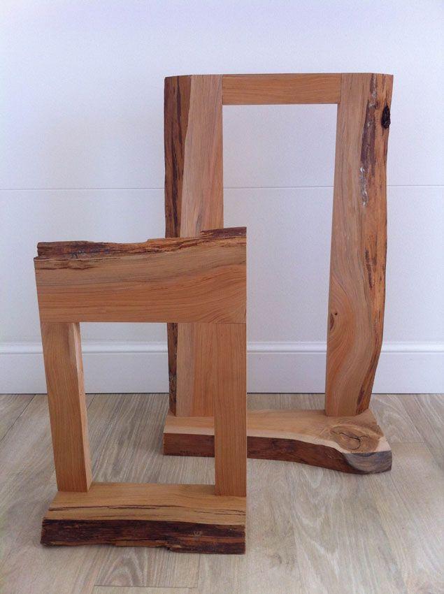 Cornici per quadri e specchi in legno di cedro grezzo su