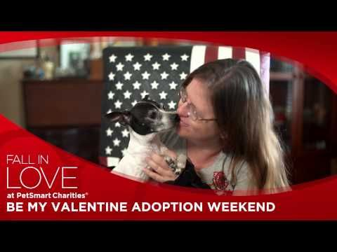 PetSmart Charities Be My Valentine Adoption Weekend