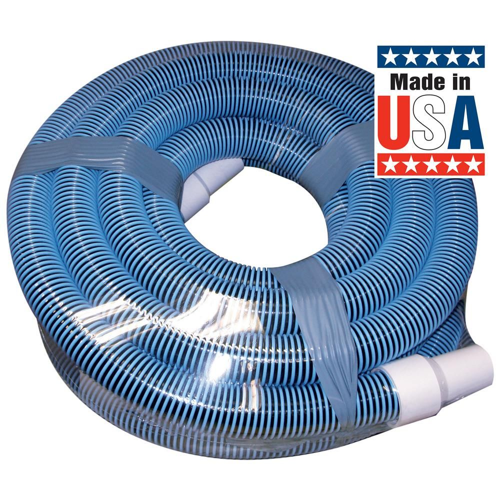 Poolmaster Classic Collection 30 Ft X 1 1 2 In Swimming Pool Vacuum Hose For Inground Pool 33430 The Home Depot Swimming Pool Vacuum Pool Vacuum Hose Pool Vacuum