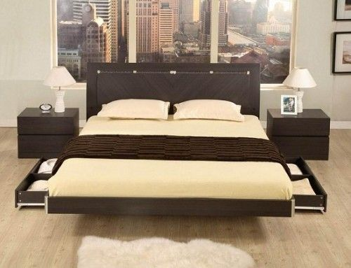 Wooden bed designs with storage bedroom pinterest bed design storage design and storage - Design of bed ...