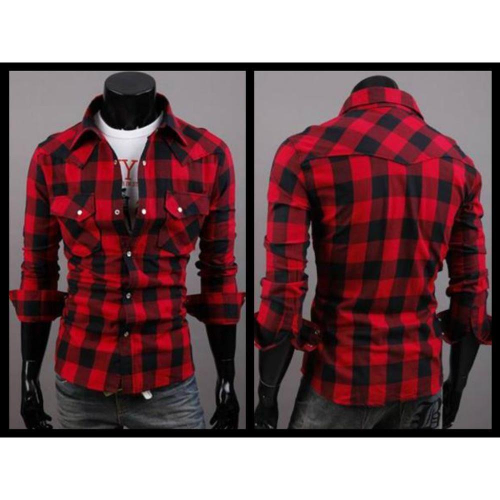 8dbbdc28378e camisa leñadora roja hombre - Buscar con Google | ropa hombre casual ...