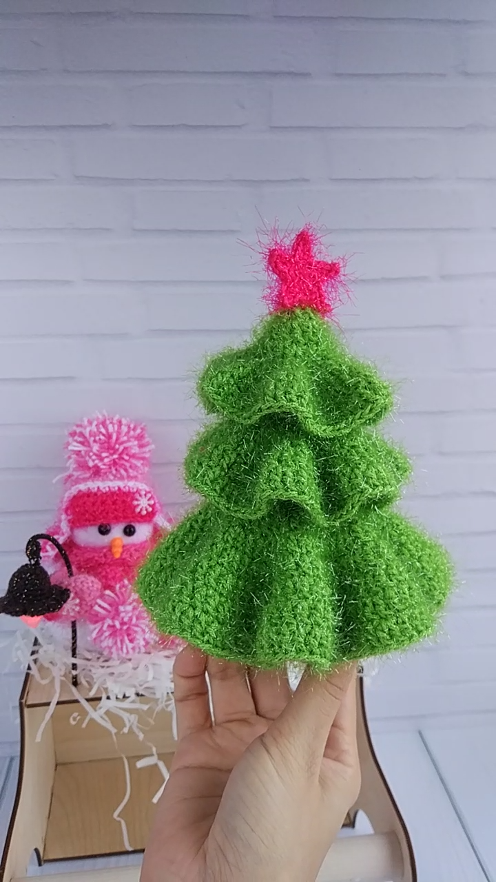 Photo of Amigurumi Christmas Tree Pattern, Crochet Christmas, Xmas Tree Pattern, Crochet Fir Tree tutorial
