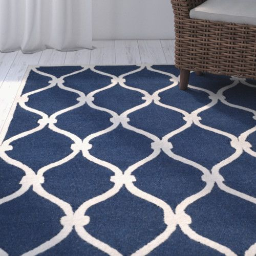 Found It At Wayfair Aberdeen Navy Ivory Area Rug Blue Area Rugs Area Rugs Blue Rug