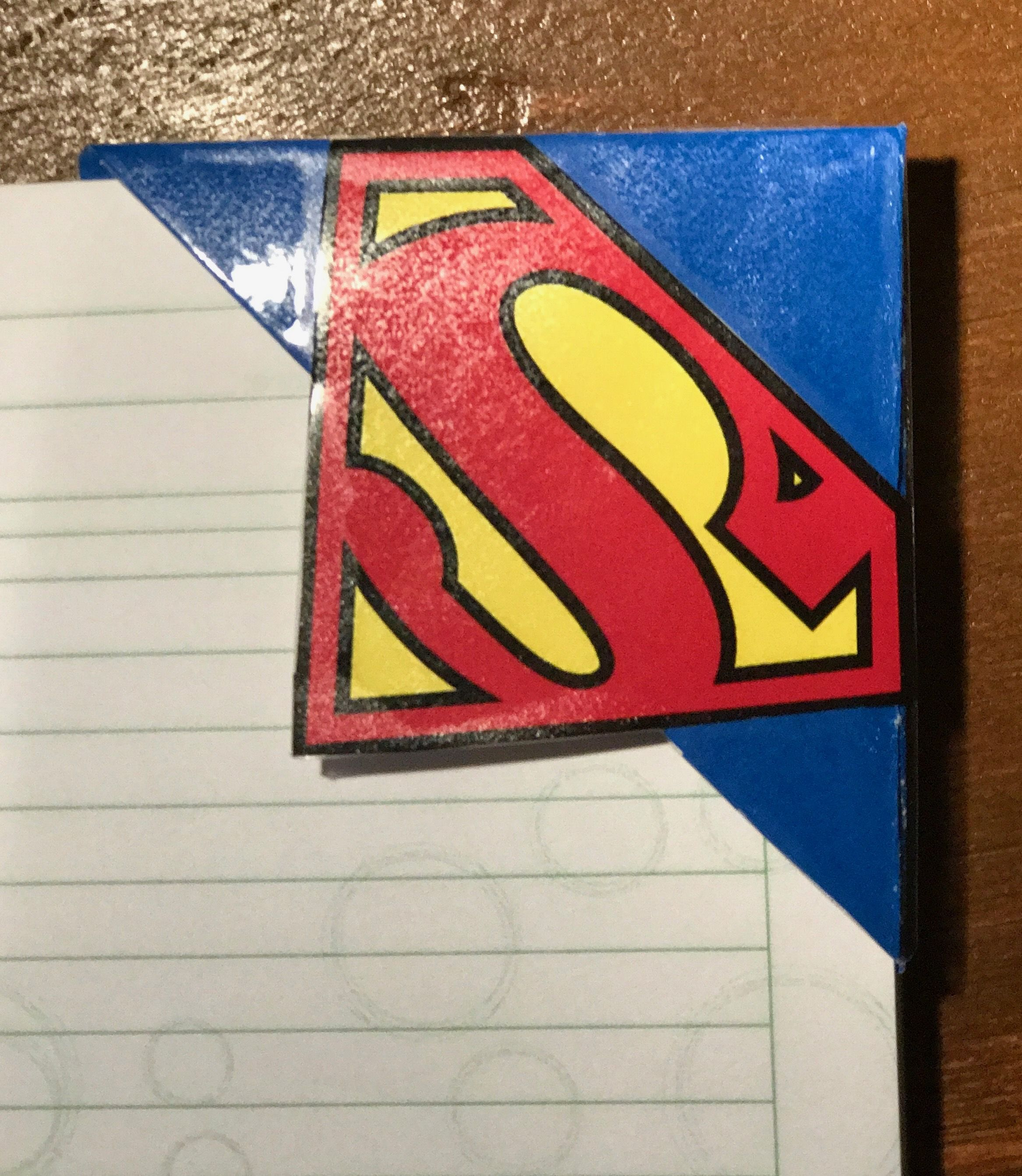 Superman. Súper héroes. Separadores de libros o marca páginas ...