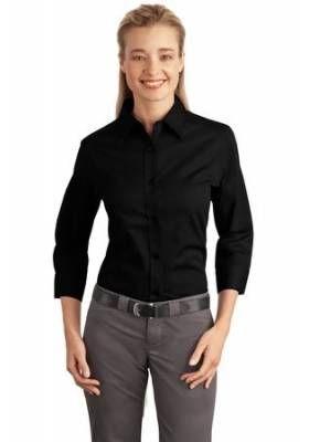 Port Authority - Ladies 3/4-Sleeve Easy Care #Shirt. L612