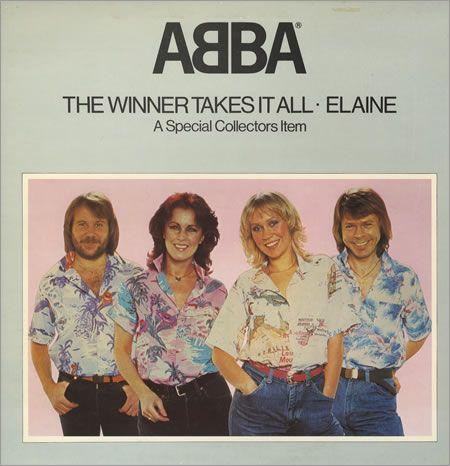 Abba The Winner Takes It All Pop Up Sleeve Uk 12 Vinyl Single