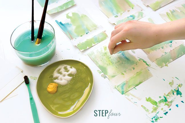 Diy Watercolor Wash Place Cards Place Cards Diy Watercolor