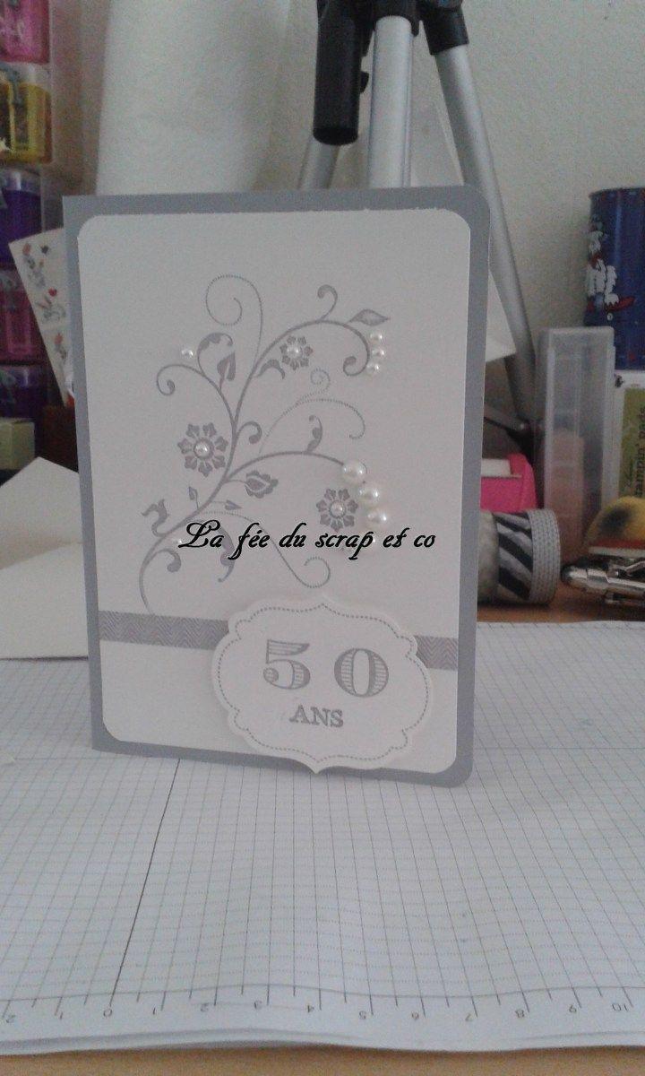 Carte 50 Ans De Mariage De Mes Parents Anniversaire De