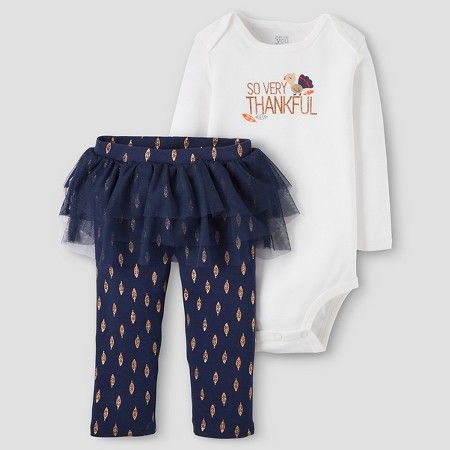 Target Baby Girl Clothes Baby Girls' 2Piece So Very Thankful Set  Just One You™Made