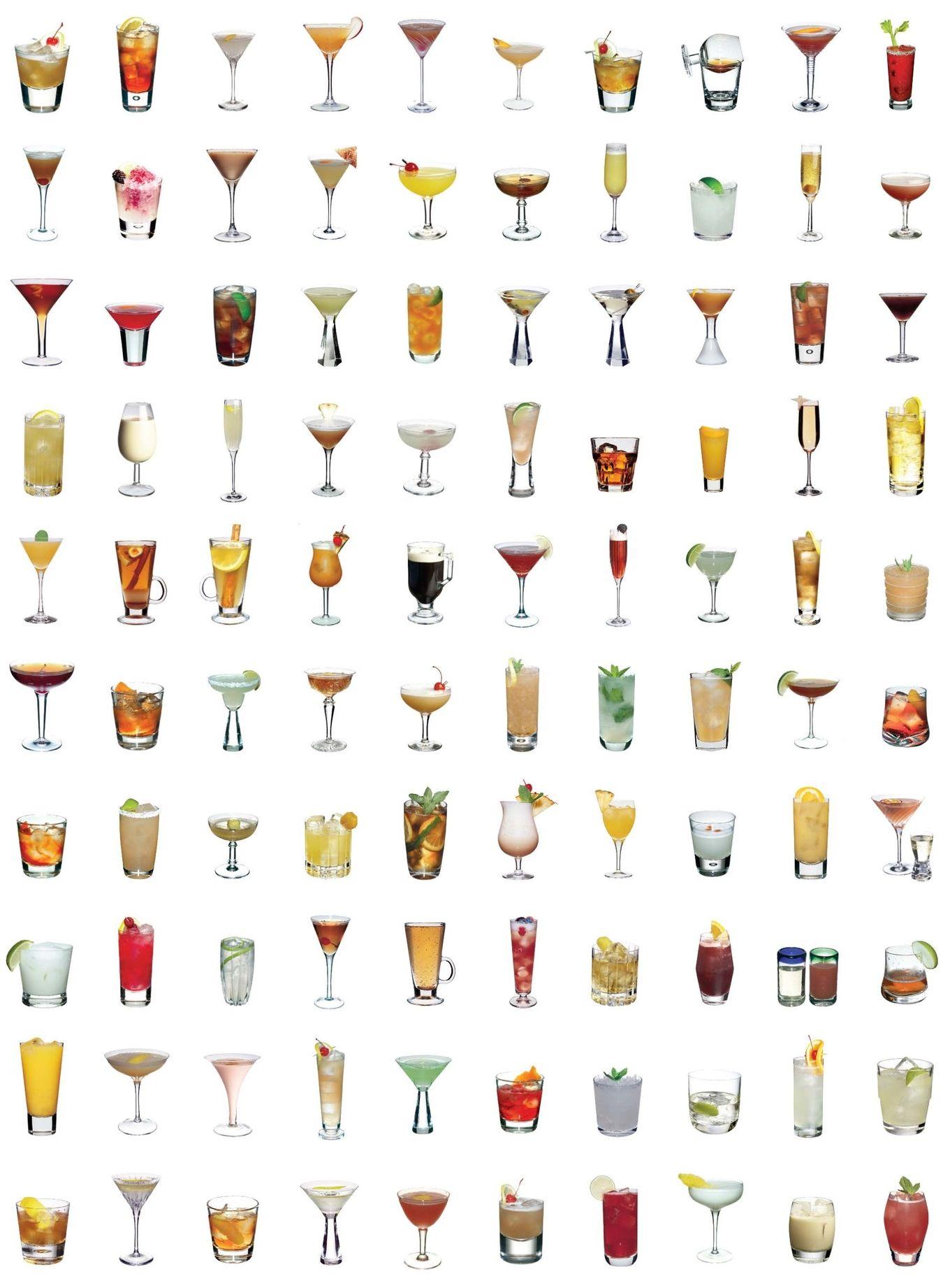 List Of Popular Cocktails