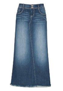 cute denim skirt! :J