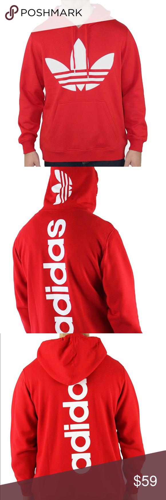 Biblia Polinizar Intacto  🏷Sale Adidas Originals Trefoil Logo Hoodie Men XL | Adidas outfit men, Mens  outfits, Hoodies men