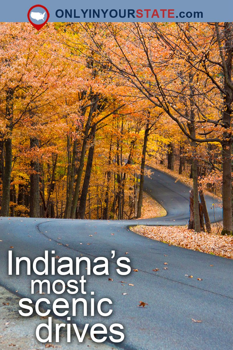 Take These 13 Country Roads In Indiana For An Unforgettable Scenic Drive Indiana Travel Scenic Drive Usa Travel Destinations