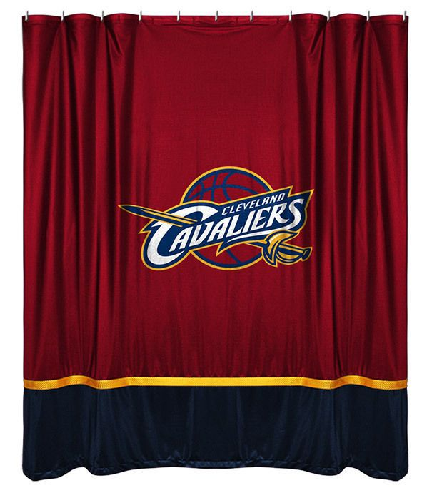 Cleveland Cavaliers Sidelines Shower Curtain Sportscoverage