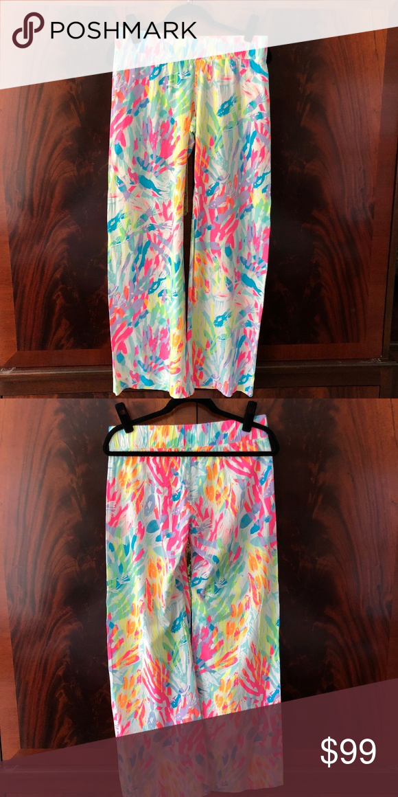 c6a4d3c7b5d Lilly Pulitzer Bal Harbour Palazzo Pant Size Small Lilly Pulitzer Bal  Harbour Palazzo Pant Size Small. Print  Multi Sparkling Sands.