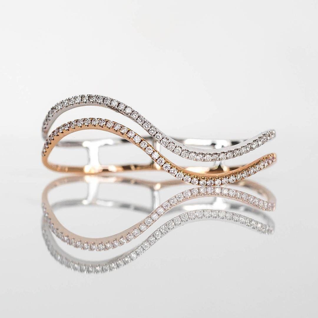 A different more pretty more diamond-y type of hand cuff ...