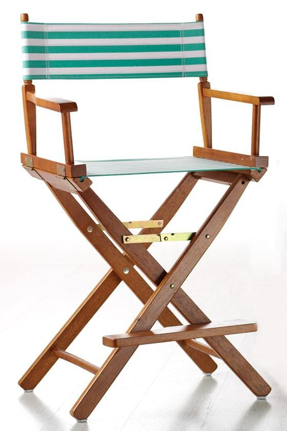 striped directors chairs wheel chair wheels director s canvas seat and back no place like home