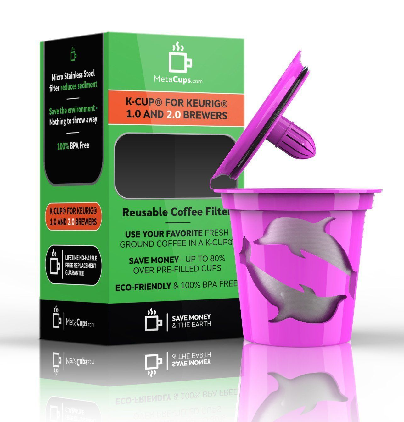 Reusable 2.0 Kcups Coffee Filter for 2.0 & 1