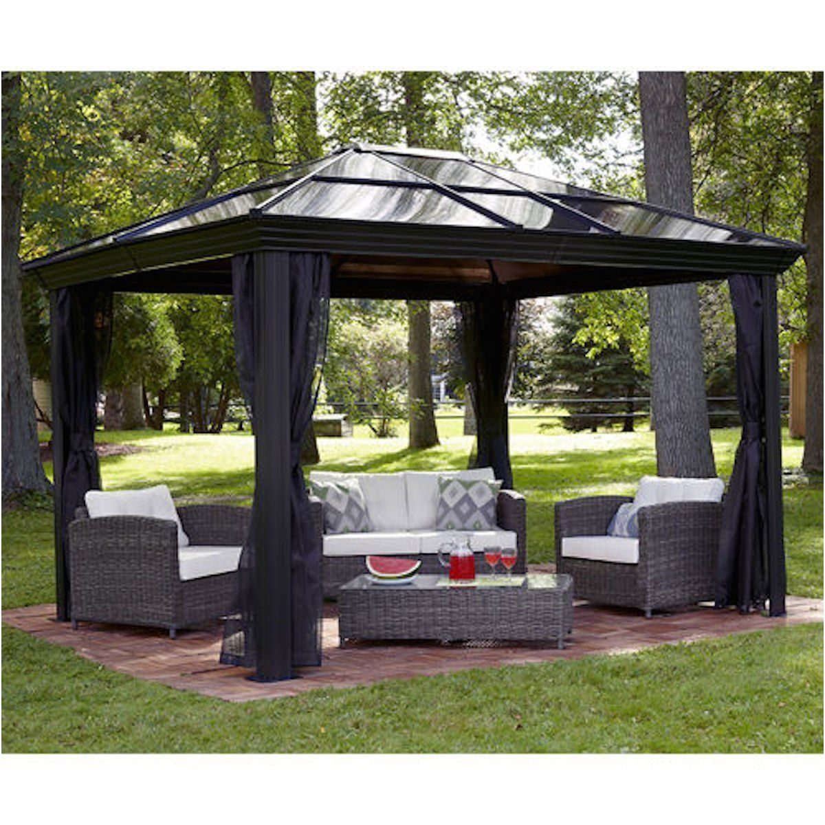 Temporary Flooring Ideas For Portable Gazebos Inspirational Gazebo Canopy Pergola This 10 X 12 Hardtop Gazebo Tent Has Backyard Gazebo Gazebo Tent Patio Canopy