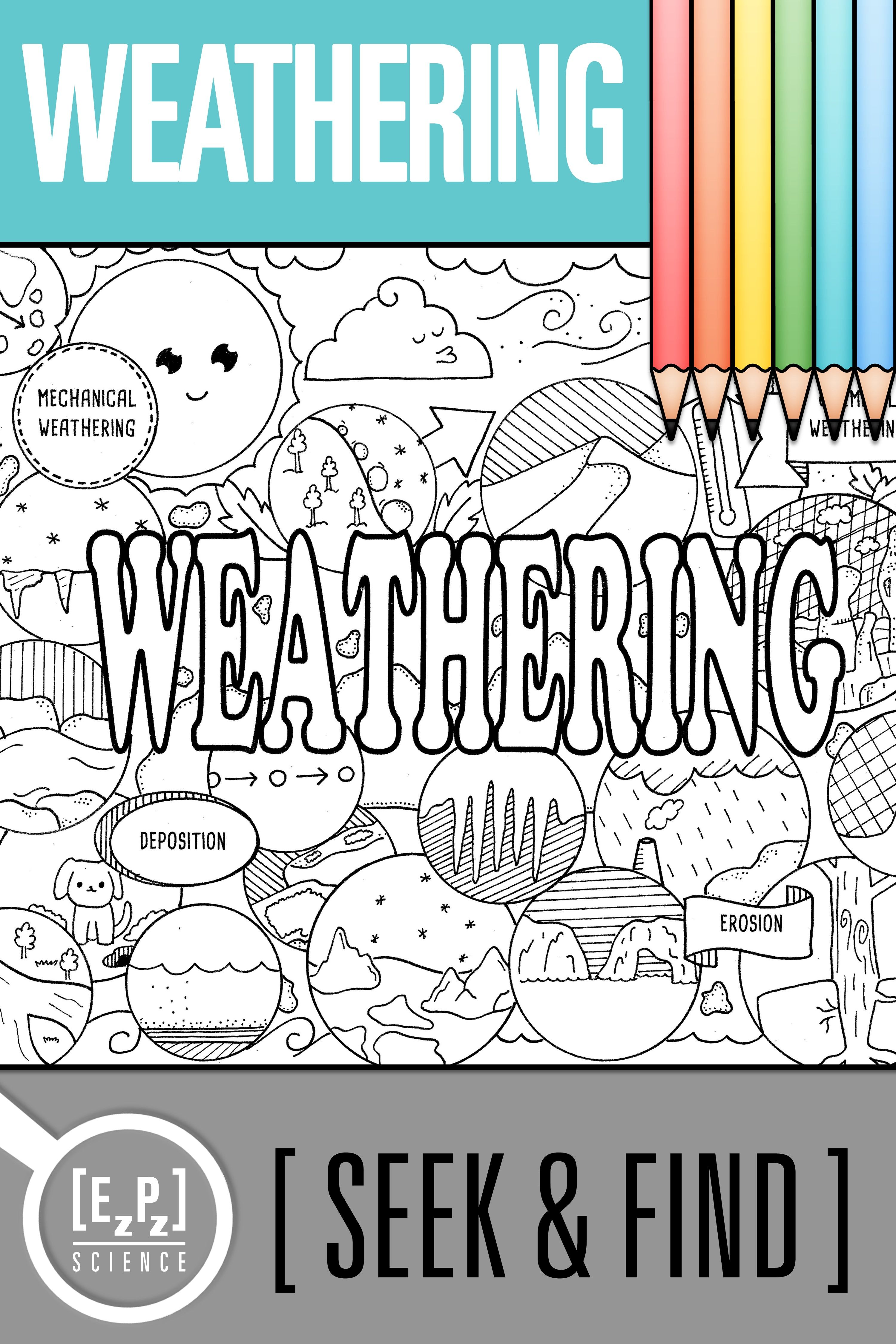 Mechanical Weathering Worksheet