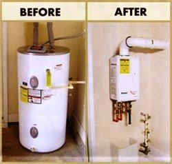 Tankless Water Heater Water Heater Installation Tankless Hot