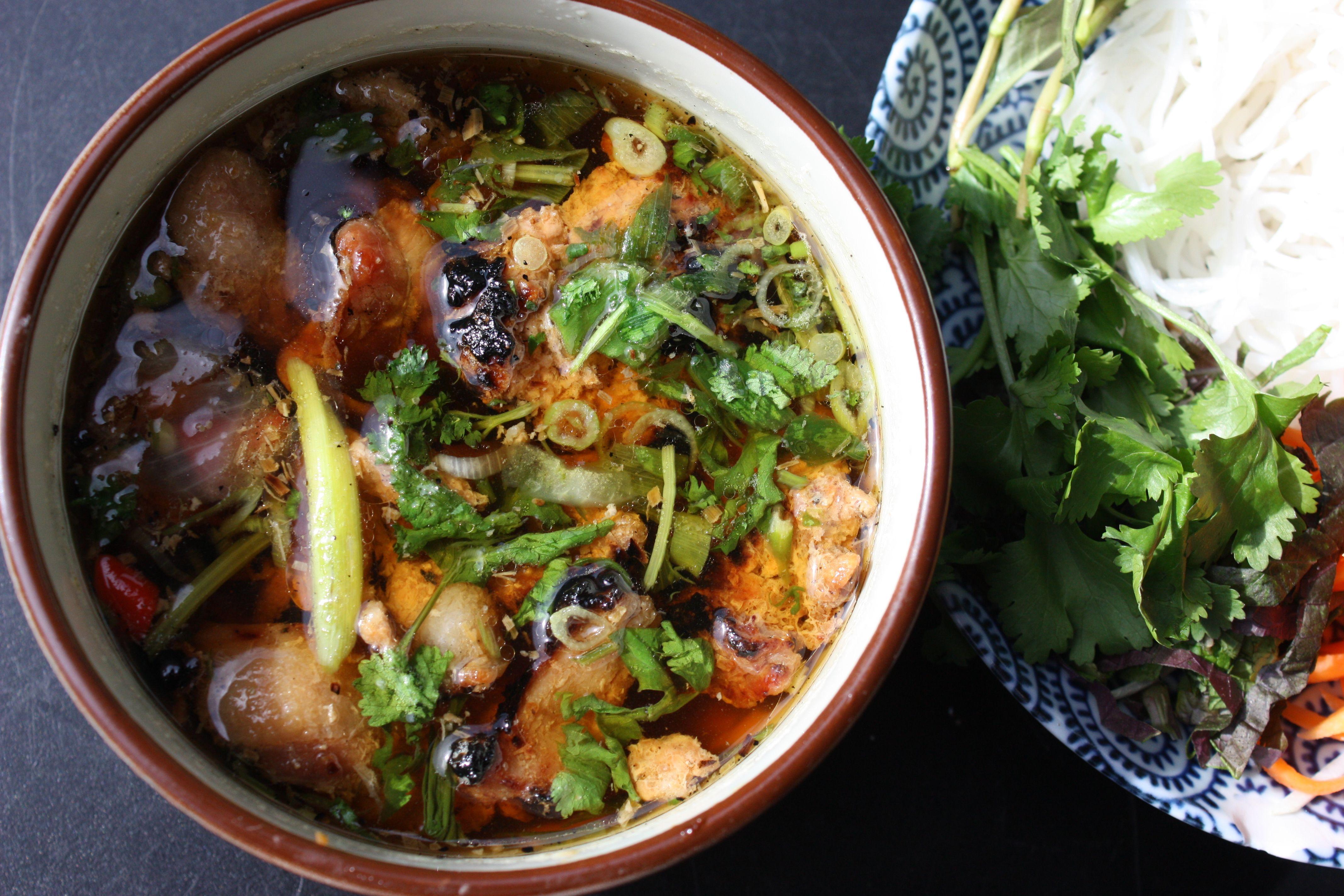 (Pronounced bun char) In Hanoi Bun cha is the main dish that locals eat for…