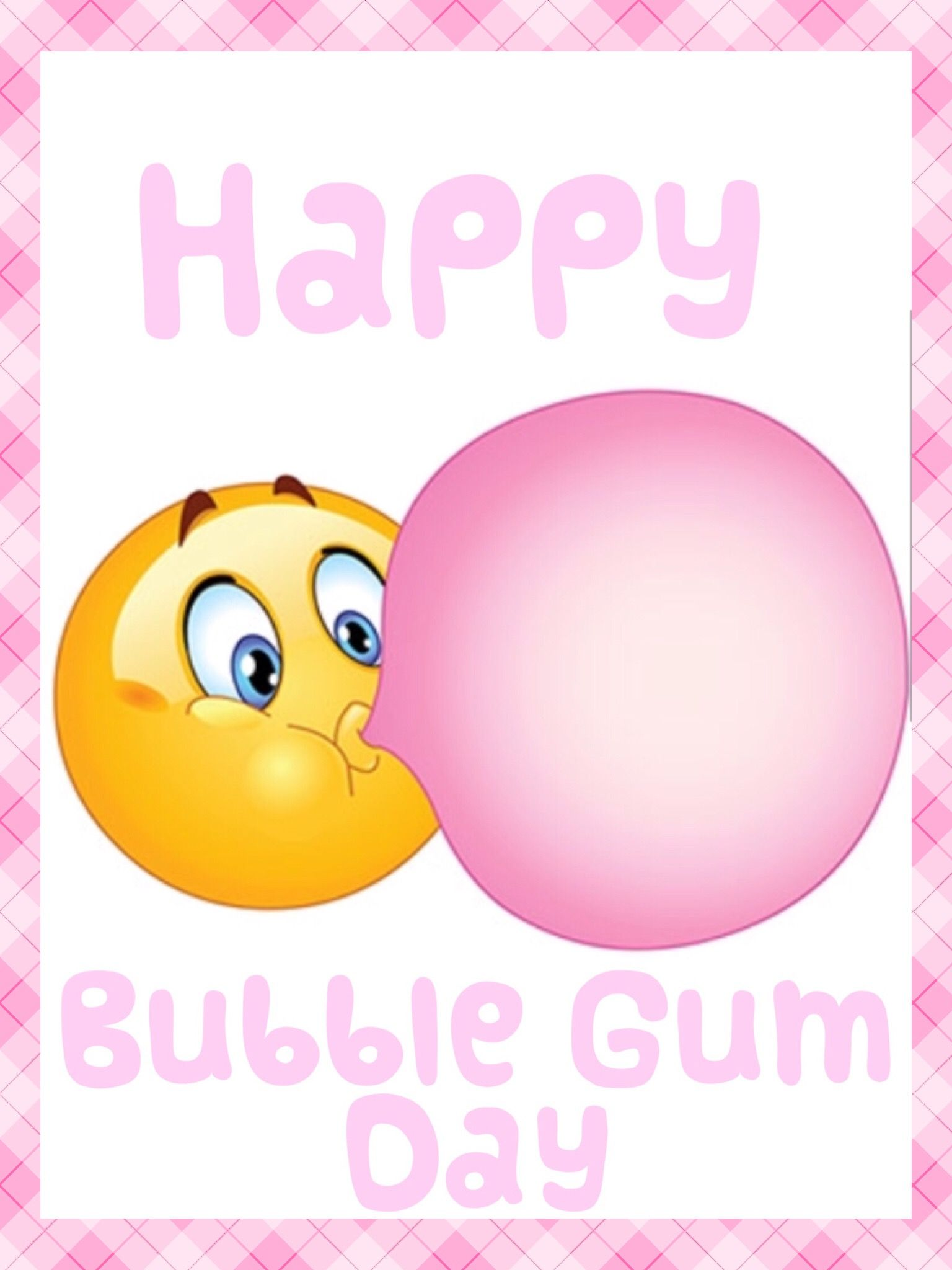 Bubble Gum Day First Friday Of February