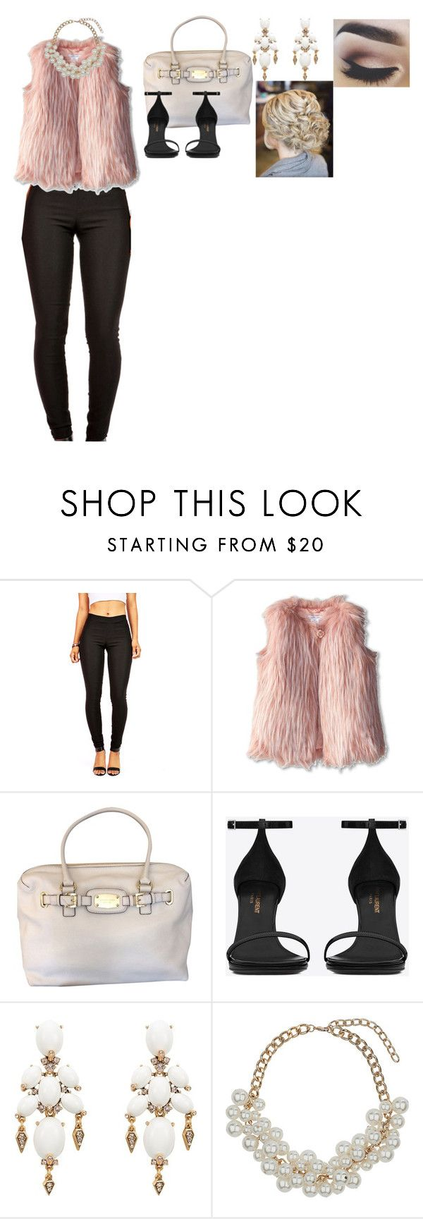 """Untitled #239"" by kenzie-riah ❤ liked on Polyvore featuring Little Marc Jacobs, Michael Kors, Yves Saint Laurent, Oscar de la Renta and Miss Selfridge"