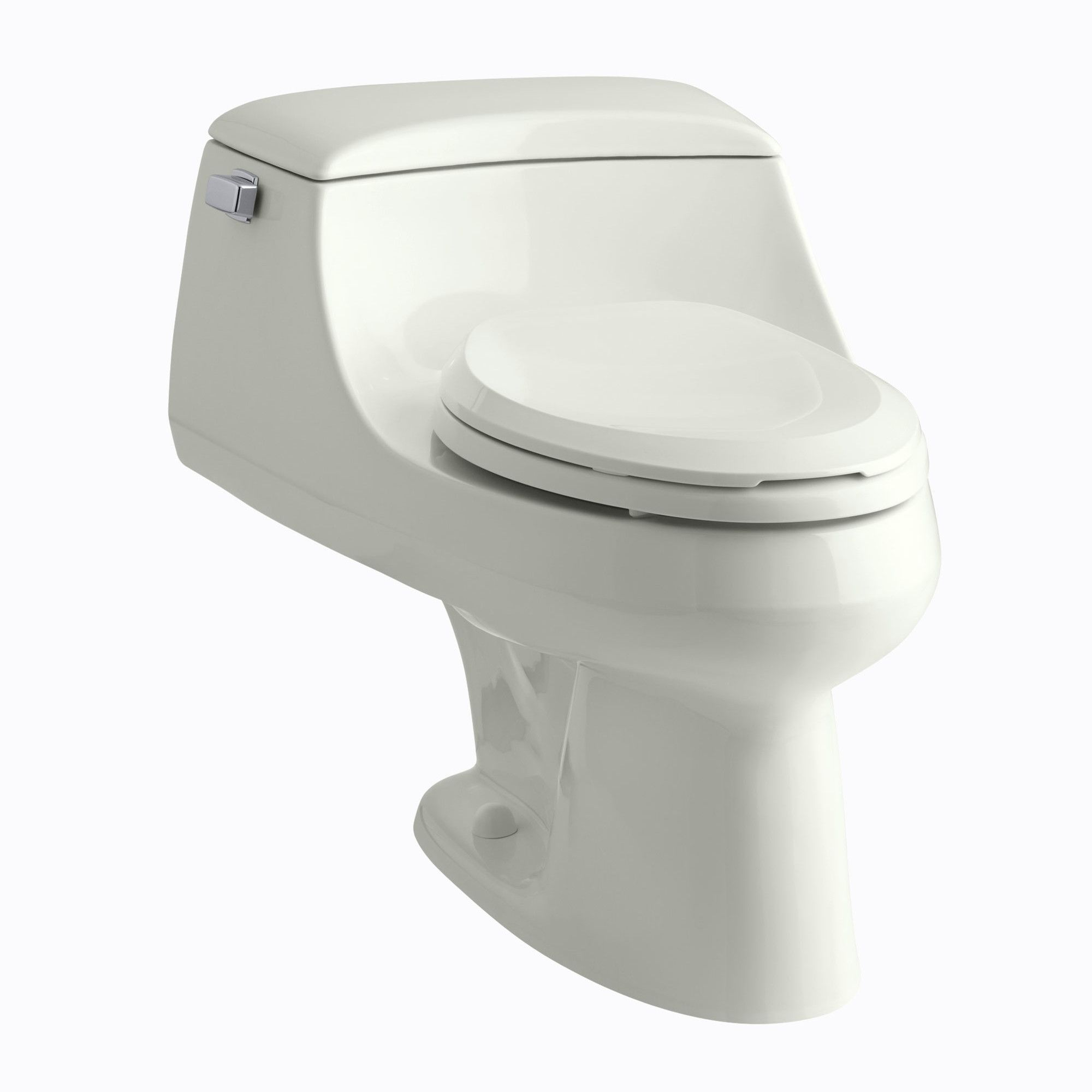 San Raphael One-Piece Elongated 1.6 GPF Toilet with Ingenium Flush ...