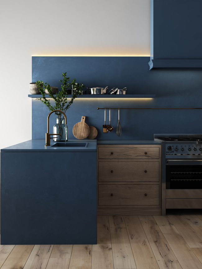 Deco Bleue Une Vague De Bleu Deferle Dans Votre Maison Cuisine