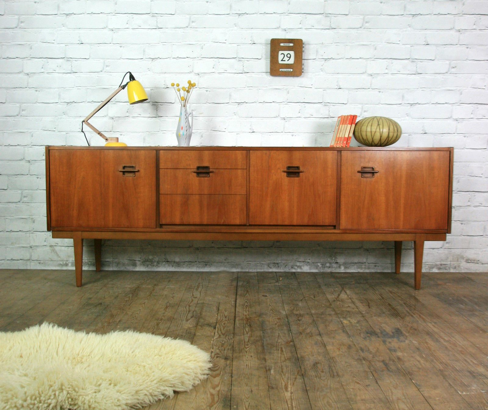 Nathan Corinthian Retro Vintage Teak Mid Century Sideboard Eames Era 1950s 60s Ebay 60s Retro Furniture Retro Furniture Furniture For Small Spaces