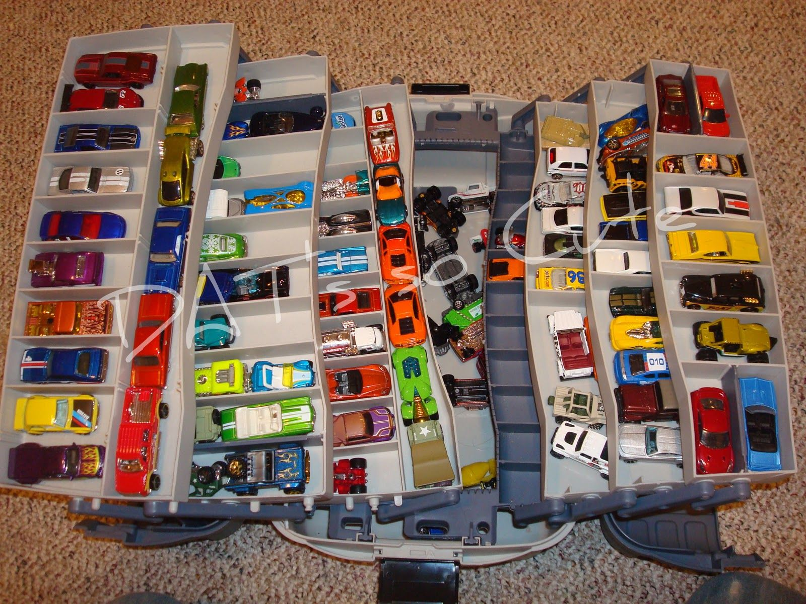 Tackle Box Car Storage