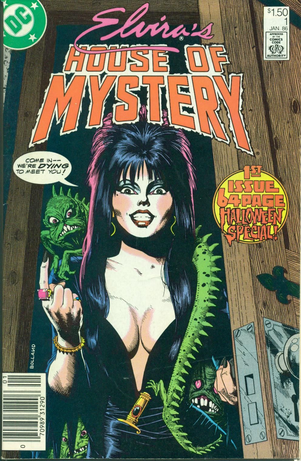 Cartoon Horror Porn Art - elvira comic | Elvira's House of Mystery #1 (Comic) | Shelf Porn