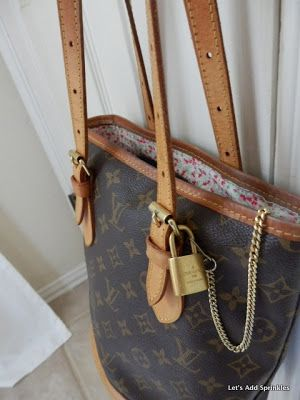 New Lining For Vintage Louis Vuitton