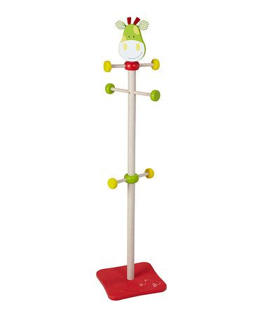 Take a look at this Giraffe Coat Hanger by Wonderworld on #zulily today!