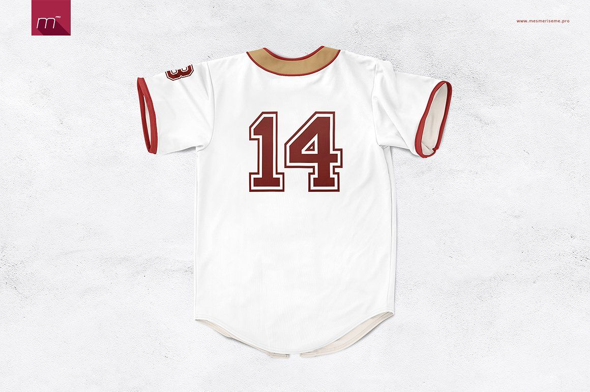 Download Baseball Jersey Mock-up | Baseball jerseys, Jersey, Mocking