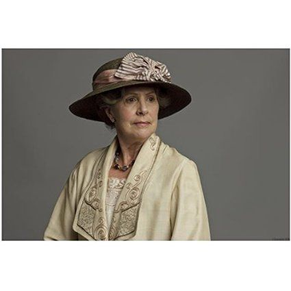 Downton Abbey Penelope Wilton as Isobel Crawley Seated Wearing Hat Looking On 8 x 10 Inch Photo, 2016 Amazon Hot New Releases Photographs  #Collectibles