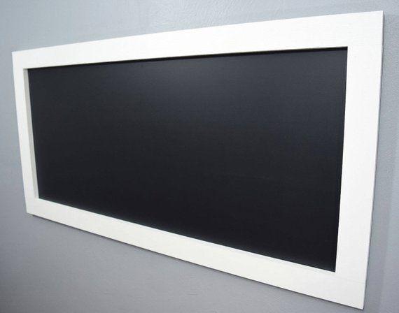 Large White Framed Chalkboard Large Chalkboard Kids