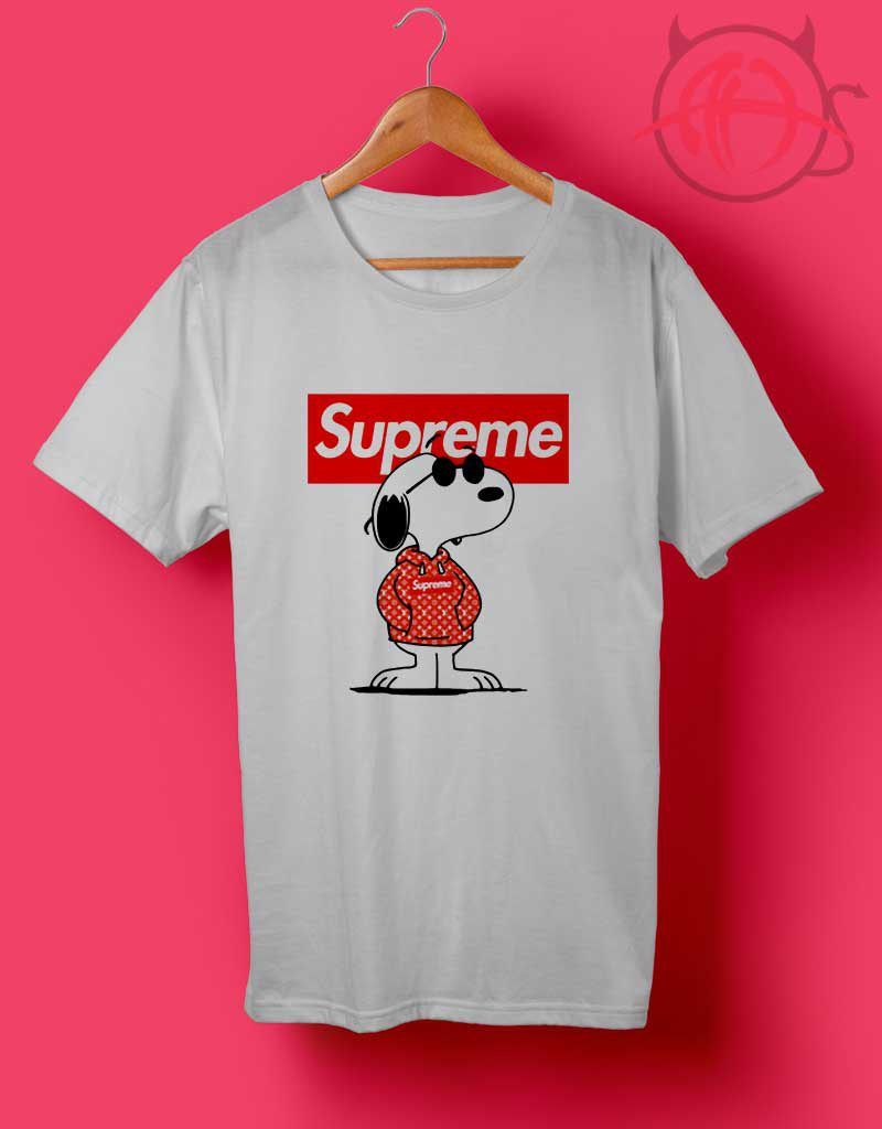 ef3fbdd35da9 Snoopy Supreme x Louis Vuitton Stay Stylish Joe Cool T Shirt in 2019 ...