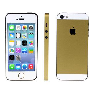 iphone 5s upgrade kit for iphone 5 gold at mobilefun. Black Bedroom Furniture Sets. Home Design Ideas