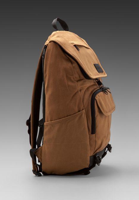 JANSPORT Base Station Backpack in Camel Brown - Backpacks   JanSport ... ca4f4abfde