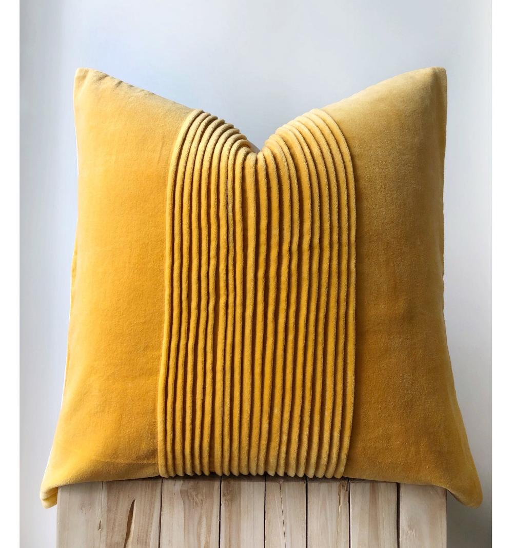 Mustard Boho Cushion Yellow Velvet Hand Dyed Mustard Pillow Etsy Boho Cushions Pillows Boho Pillows