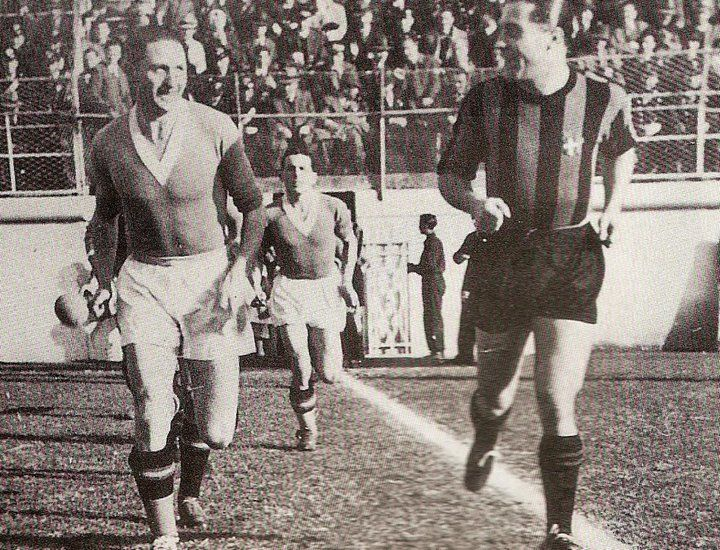 Giuseppe Meazza, Inter Milan (1927–1940, 348 apps, 241 goals + 1946–1947, 17 apps, 2 goals). Sometimes his love of champagne and woman would cause him trouble with the board of directors. Incidents of the sort soon became common. In 1937, it was the day of the game against Juventus in Milan with only an hour before the game and Meazza had still not shown up. The directors became nervous and sent a masseuse and another trainer in a car to find him. They found him in bed, sleeping profoundly…