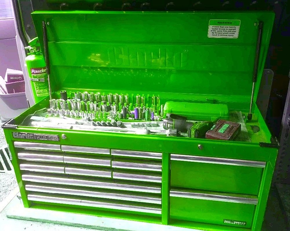 Clarke Wide Boy Top Tool Chest Love The Layout Of Drawers