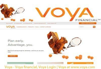 Voya Voya Login Financial Investing For Retirement Life