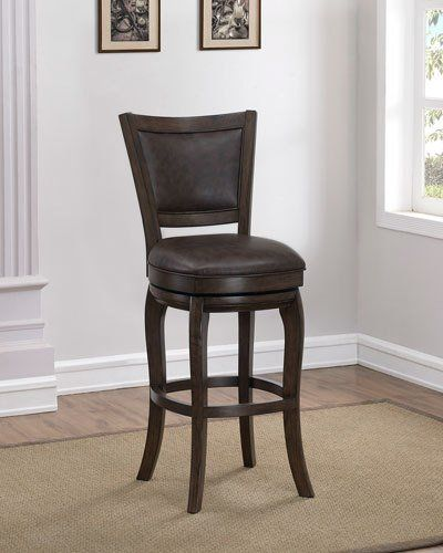 Andrew Leather Counter Stool Leather Counter Stools