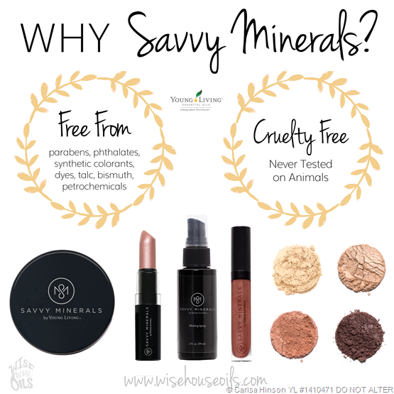 Savvy Minerals Makeup a new safe option! Savvy