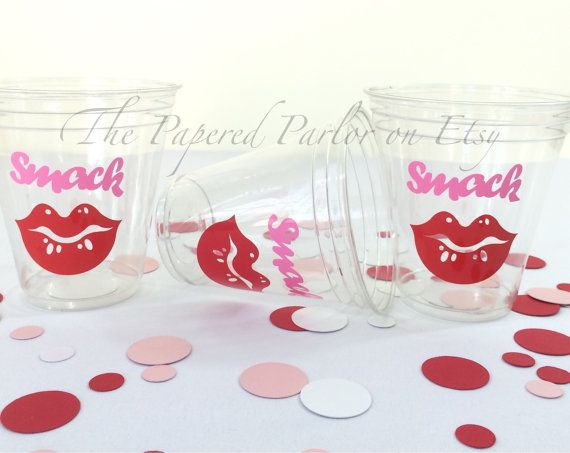 Set of 12 Lip Party Cups/Bachlorette Party Cups/Girls Night Out/Party Supplies/Party Cups/Sweet 16/Birthday Bash