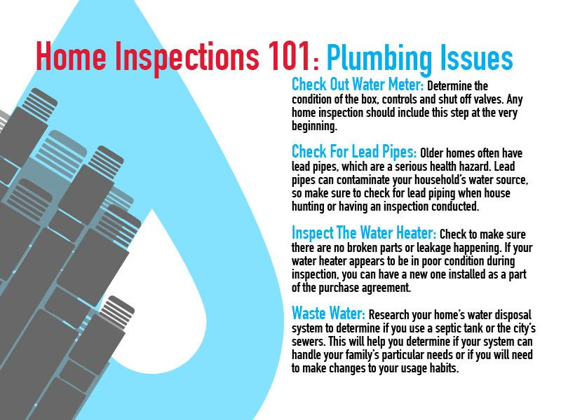Plumbing Issues in Home Inspections   wwwLeakGeeks - home purchase agreement
