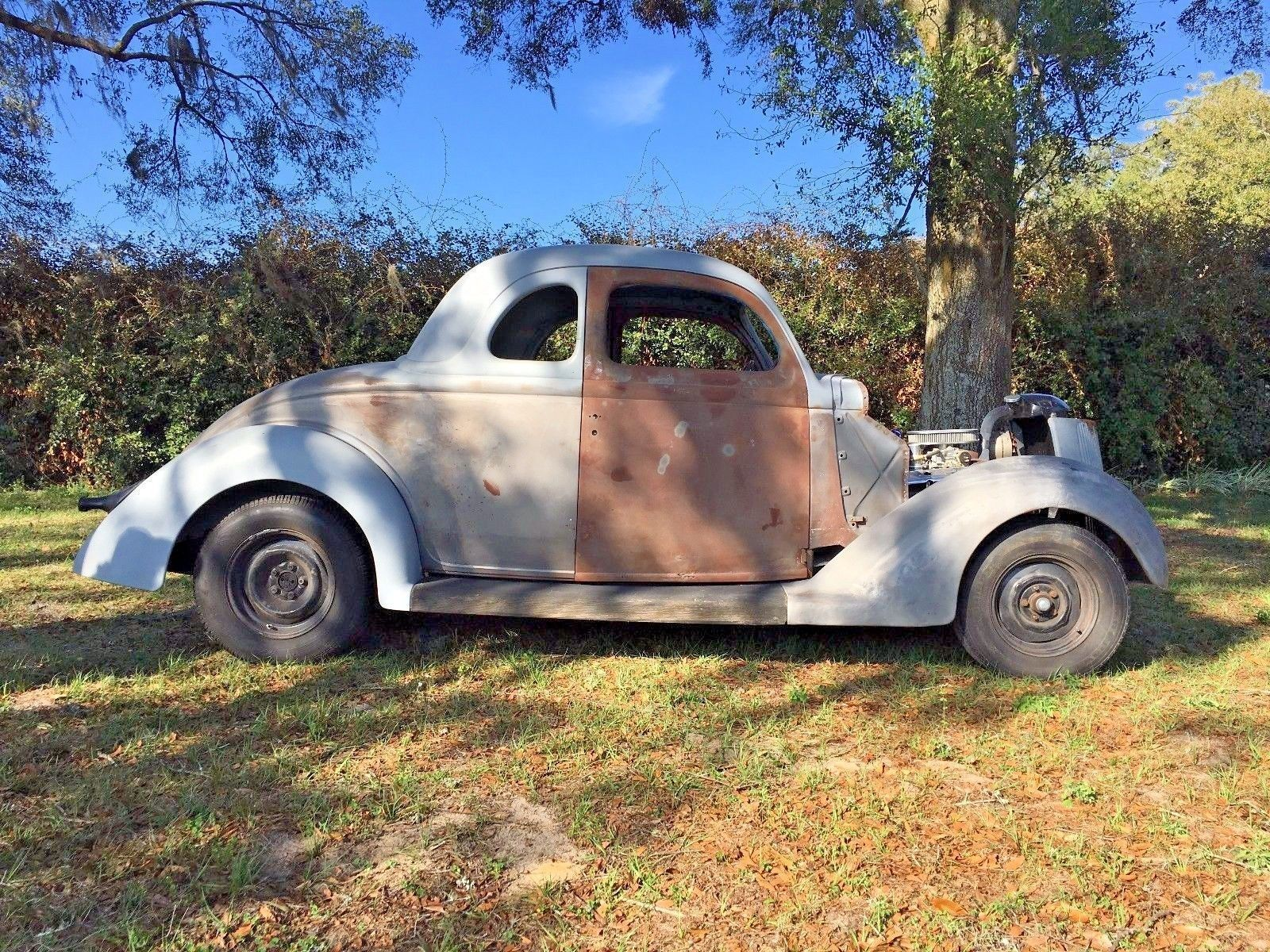 Roller Project: 1936 Ford 5 Window Coupe Street Rod | Project cars ...